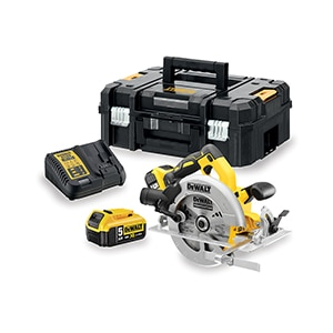 DE 18v XR Brushless Circ Saw - Kitted 5.0Ah